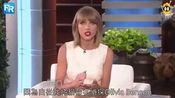 Taylor Swift 霉霉在艾伦秀上谈论养的新猫