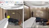 Enscape2.6实测,模型来自《Enscape场景设计》一书,由张凯老师提供。(就是我写的那本书哦^_^)