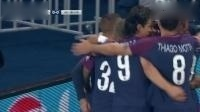 欧冠-巴黎圣日耳曼3-0拜仁慕尼黑, 阿尔维斯卡瓦尼内马尔进球