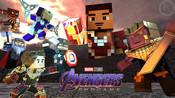 用Minecraft看复仇者联盟4 终局之战是怎样一种体验