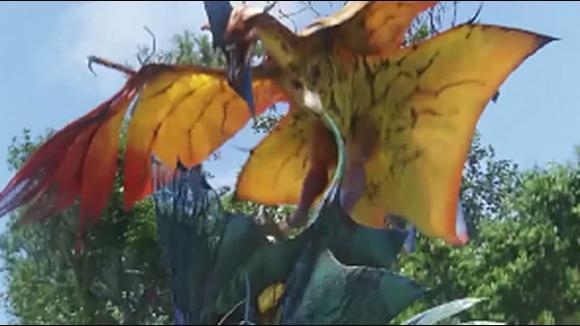 5个亿的大片《阿凡达》片段3 杰克遭遇终极魅影追杀