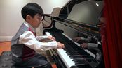 Sonata K545, First Mvt. (W. A. Mozart) by Evan Lê (6 years old)