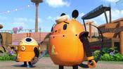 乌龙博士造出迷糊甜甜圈,潜入马戏团,要让探探猫他们吃下去!