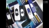 U盘个性电子点烟器/USB充电打火机/创意防风超薄无声精品火机批发