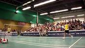 羽毛球:林丹和鲍春来的精彩表演赛,时光不再,年轻真好!