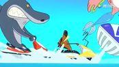 鲨鱼哥为了得到人鱼爸爸的认可,上演了一出好戏