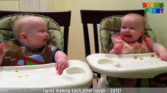 双胞胎集锦,太萌太可爱了