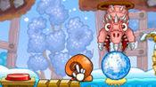 【果果姐】不如滚个雪球吧!蜗牛鲍勃冒险游戏