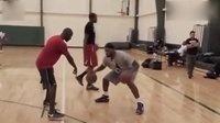 2011年詹姆斯 杜兰特特训视频记录 美国篮球训练