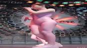 粉色贴身透视装性感美女腰线好好2-极品美女如云-男人福利社