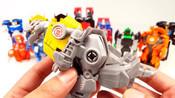 805变形金刚机器人在伪装冒险RID擎天柱大黄蜂1步车辆机器人汽车玩具