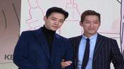 """韩剧《金科长》发布会 南宫珉2PM俊昊""""互揪"""""""