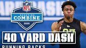 NFL2020-21年度新秀考察营跑卫40码dash视频