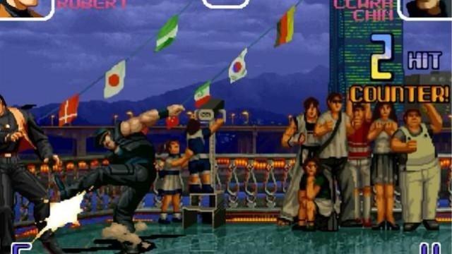拳皇2002:克拉克把对手赌角毫无还手之力