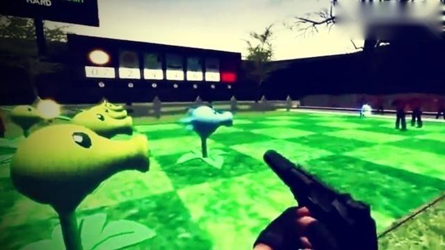 3D版植物大战僵尸,超级好玩儿