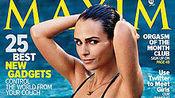 《速度与激情6》女主角Jordana Brewster咸湿出镜《MAXIM》