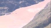 金沙江白格堰塞湖已自然泄流 出现溃坝可能性不大