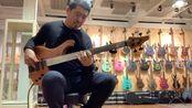 用一万多欧元的德国全手工lefay fretless bass 练会琴