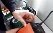 彩贝蚂蚁比特币矿机安装配置教程视频(二)-开机配置矿池矿工