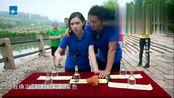 《奔跑吧兄弟》郑恺和baby浪漫吃饼干