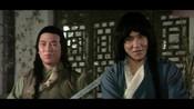 蛇鹤八步:男孩被坏人偷袭受伤,女侠关键时刻救场,真是太厉害了