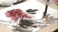 中国画___写意牡丹花的画法
