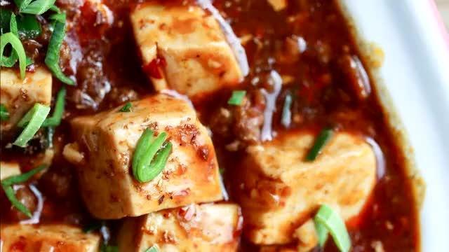 超级下饭的四川麻婆豆腐制作全过程