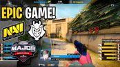 【CSGO】EPIC GAME!! - NaVi vs G2 - Starladder Berlin MAJOR - BEST MOMENTS | CSGO