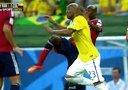 7月5日 Brazil vs Colombia 1st half.