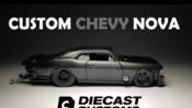 【DieCast Customs】合金小车改造:风火轮 雪佛兰 Nova Drag Car