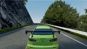 【绝对赛车】究极下压力700匹evox race spec攻山1:18.8