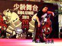 2011少龄舞台新疆少儿街舞大赛裁判表演-图尔洪POPPING表演