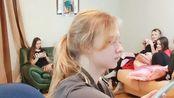 俄罗斯教主~2.7~铁锤浪漫樱花!闺女们俯卧撑!烤肉空军双飞燕!明妹子辣眼睛!!!