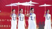 山东省老年大学文艺展演决赛时装表演《青花古韵》