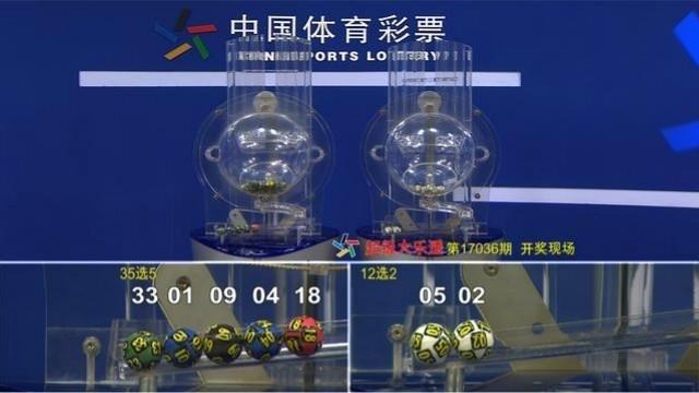 """""""体彩视频""""体彩超级大乐透第17036期广东彩民喜获追加头奖"""