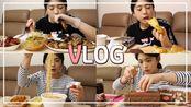【mukderella】吃播vlog*大发好吃..酱螃蟹酱螃蟹拌面,大肠可乐蛋糕(2019年12月21日12时1分)