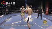 霍小龙出场模仿李小龙玩双截棍,铁拳硬怼击腹KO对手!