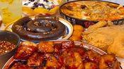 吃播:美食麻辣烫、红烧肉、水果捞、炸鸡、鲍汁饭