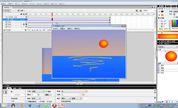 信息技术奥赛 flash动画制作高级教程  图层的使用 红太阳_clip