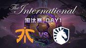 [Ti9 DOTA2国际邀请赛] 淘汰赛DAY1 8月20日 Fnatic vs Liquid