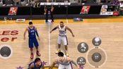 NBA手游,湖人对快船,单节时间一分钟比分相差16分赢得比赛,一定要看完,后面更精彩。
