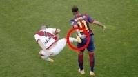 足球犯规打架冲突集锦, 内马尔被群殴, C罗被铲飞!