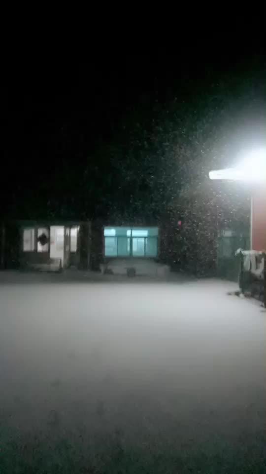 2017年第一场雪,辽阳
