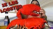 【pink】(警告不要)15磅龙虾海鲜煮大龙虾吃的声音(2019年8月27日6时46分)