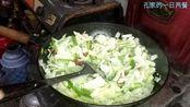 山东农村1月31日早饭做饭过程(三)