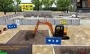 前诚科技:挖掘机模拟操作教学设备---坑沟填埋