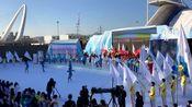 蔡徐坤佟丽娅现场唱响志愿者之歌《冬梦飞翔》助力赛会志愿者全球招募