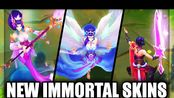 All New Immortal Journey Skins Splendid Staff Nami, Majestic Empress Morgana & V