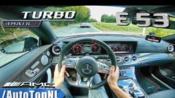 第一视角 2019 梅赛德斯 奔驰 AMG E53 E CLASS Coupe 4Matic+ 3.0 i6 双涡轮 测试 试驾 by AutoTopNL