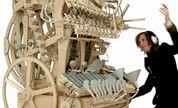 瑞典牛人黑机械 两千钢弹奏音乐